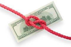węzły 01 pieniądze Fotografia Stock