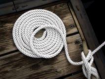 węzły nautyczna liny Obraz Royalty Free