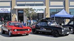 Włóczydło samochody wyścigowi Obrazy Royalty Free