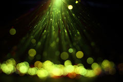 Włókien światłowodowych świateł abstrakta tło Obraz Royalty Free