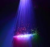 Włókna światłowodowego tło Zdjęcia Royalty Free
