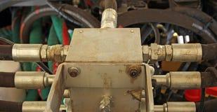 włączniki hydrauliczni obrazy stock