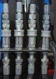 włączniki hydrauliczni fotografia stock