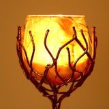 właściciel candle Zdjęcie Royalty Free