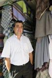 właściciela portait sklep detaliczny Fotografia Stock