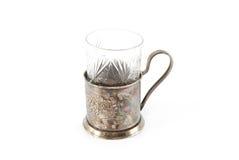 właściciela szklany rocznik Zdjęcie Royalty Free