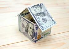 właściciele domu pojęcie kosztów w domu obraz zarobić reprezentuje Zdjęcia Stock
