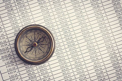Właściwa wskazówka twój biznes Obraz Stock