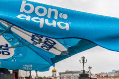 Właśnie bonu aqua eksmituje zdjęcia stock
