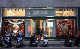 Właśnie Cavalli sklep Zdjęcie Stock
