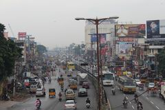 Właśnie inny dzień w Chennai zdjęcie royalty free