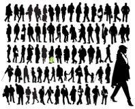 właśnie ludzie Fotografia Stock