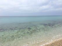 Właśnie morze Fotografia Royalty Free