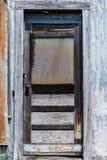 Właśnie stary zapominający drzwi Obraz Royalty Free
