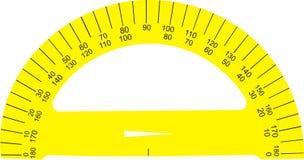 władcy kolor żółty Fotografia Stock