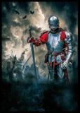 władyka średniowieczna Royalty Ilustracja