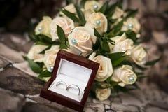 Władyka miłość pierścionek Obrazy Royalty Free