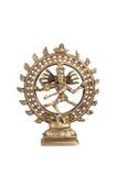 Władyka Shiva na białym tle obrazy royalty free