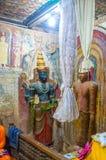 Władyka Vishnu w buddyjskiej świątyni w Battala Fotografia Royalty Free