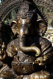 Władyki Ganesha statua - hinduism słonia bóg obrazy stock