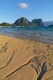 Władyki Howe wyspy laguna obraz royalty free