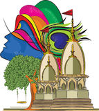 Władyki Krishna świątynia 4 ilustracji