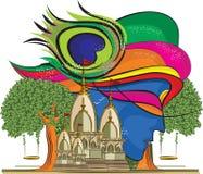 Władyki Krishna świątynia 2 ilustracji