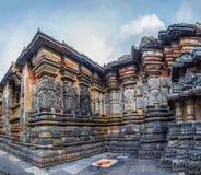 Władyki Vishnu świątynia - architektura India Fotografia Stock