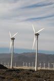 Władza generatoru silnik wiatrowy Obrazy Royalty Free