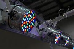 Władza projektoru różnorodność, nowożytny energooszczędny, zdjęcia royalty free