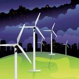władza wiatr ilustracja wektor