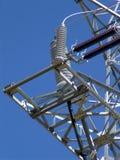 Władzy elektryczności linia Fotografia Royalty Free