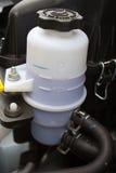 Władzy sterowania fluidu rezerwuar obraz stock