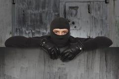 Włamywacz, Ninja, rabuś Fotografia Stock