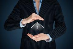 Własność insurance Obrazy Stock