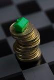 Własności & rynku nieruchomości gra Obraz Royalty Free