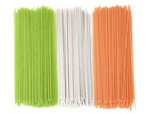 Włoch bandery spaghetti Obraz Royalty Free