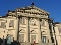 Włoch bergamo Akademia sztuki piękna i galeria sztuki wymienialiśmy Accademia Kararyjskiego Fotografia Stock