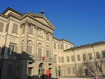 Włoch bergamo Akademia sztuki piękna i galeria sztuki wymienialiśmy Accademia Kararyjskiego Obrazy Stock