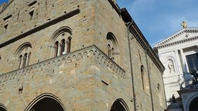Włoch bergamo Antyczna administracja Lokuje i fasada Świątobliwa Aleksander katedra zbiory