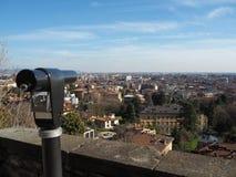 Włoch bergamo E zdjęcia royalty free