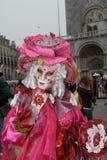 Włoch karnawałowy Wenecji Zdjęcie Royalty Free