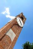 Włoch mondov wieżę zegarową Obraz Royalty Free