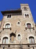 Włoch z asyżu Widoki ulicy stary centrum miasta, Unesco światowe dziedzictwo zdjęcia royalty free