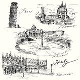 Włochy ilustracja wektor