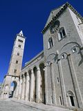 Włochy, Apulia, Trani schronienie i romańszczyzny katedra, zdjęcie royalty free