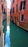 Włochy Chodzi przez kanałów Wenecja i ulic Zdjęcie Royalty Free