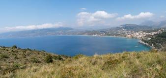 Włochy, Cilento park narodowy, Capo Palinuro zdjęcia stock