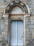 Włochy Famour błękita 2017 drzwi Zdjęcia Stock