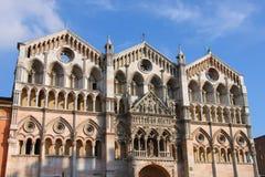 Włochy, Ferrara - Obraz Royalty Free